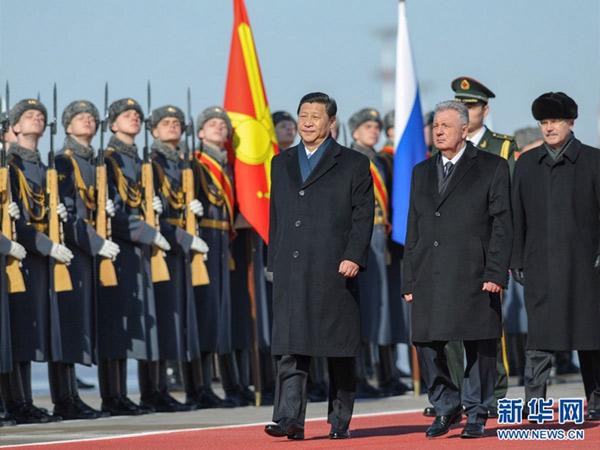 习近平同俄罗斯总统普京会谈 两国元首共同签署联合声明